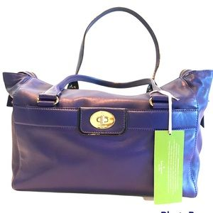 Kate Spade Convertible Leather Tote Satchel